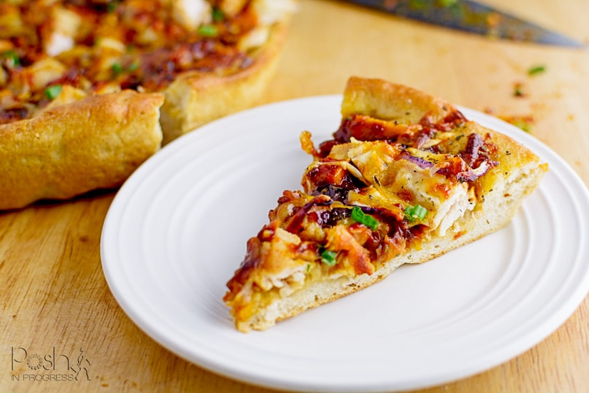How to Make Easy Homemade BBQ Chicken Pizza from Scratch