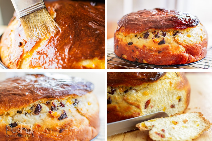 This is the easiest Italian panettone bread recipe ever