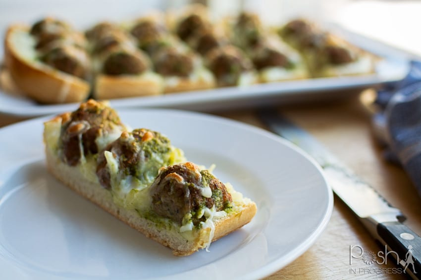 How to Make this Meatball French Bread Pizza Recipe