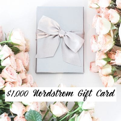 My Favorite Spring Clothes + $1000 Nordstrom Gift Card Giveaway