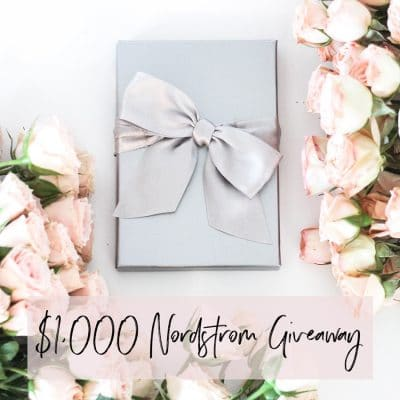 Here's Your Chance to Win a $1000 Nordstrom Gift Card