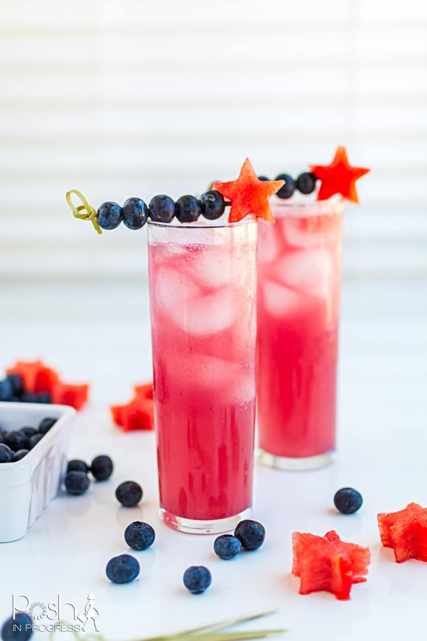 How to Make This Tantalizing Watermelon Blueberry Smash Cocktail
