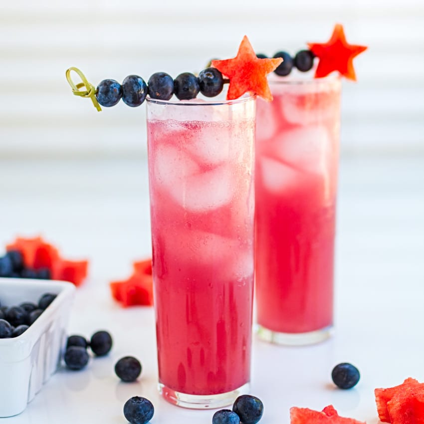 How to Make This Tantalizing Watermelon Blueberry Smash ...