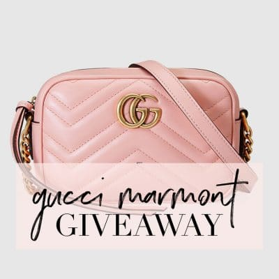 Here is your Chance to Win a Gucci Marmont Mini Bag