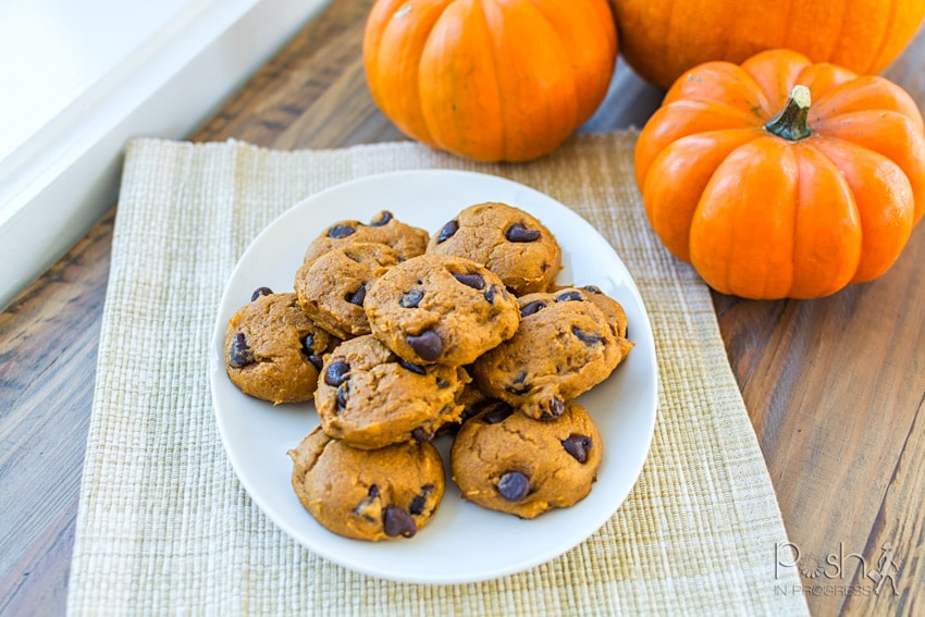 Canned Pumpkin And Cake Mix Cookies