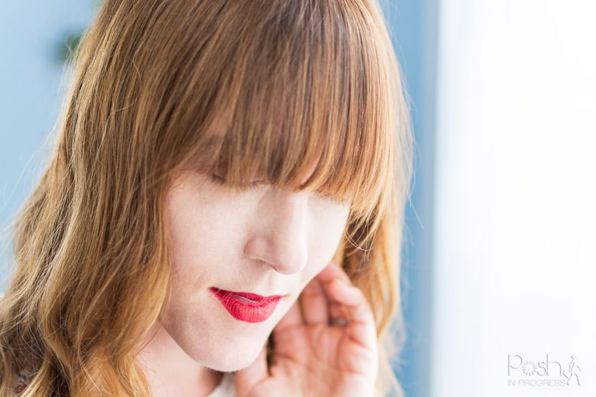 Top tips for growing out bangs quickly featured by top LA lifestyle blogger, Posh in Progress