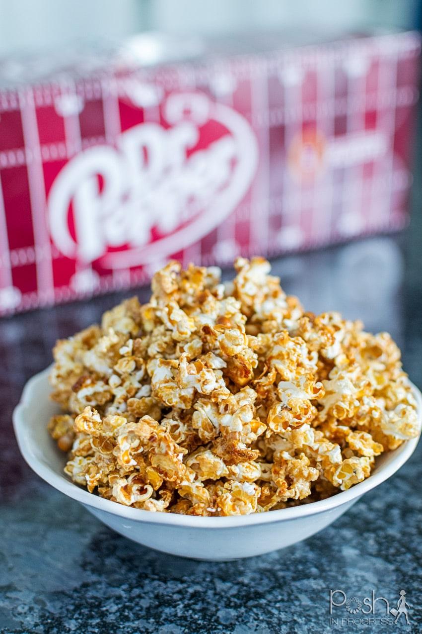 How to Make This Super Easy Dr Pepper Caramel Corn Recipe