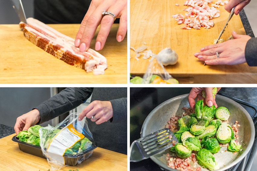 How to Make This Blissful Bacon-Braised Brussels Sprouts Recipe