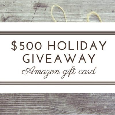 amazon gift card holiday giveaway