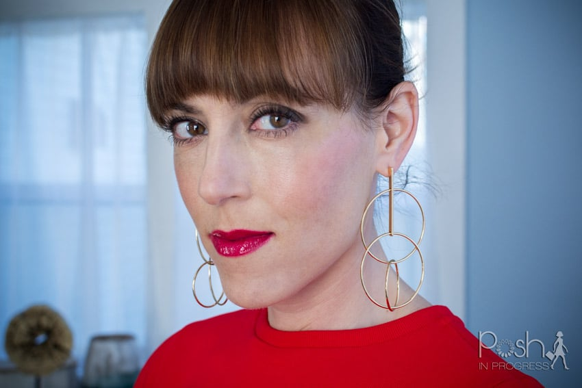 This is How to Rock Gold Statement Earrings
