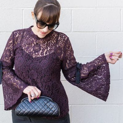 What You Need To Know About the Lace Bell Sleeve Top Trend