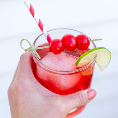 How to Make This Simple Cherry Lime Spritz Recipe