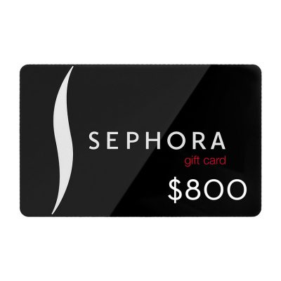 Enter for a Chance to Win $800 Sephora Gift Card!
