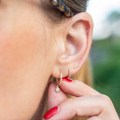 Here is Why I'm Loving Stack Earrings (Like I Did in the 90s)