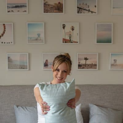 This is How I Created a Stunning California Bedroom Gallery Wall