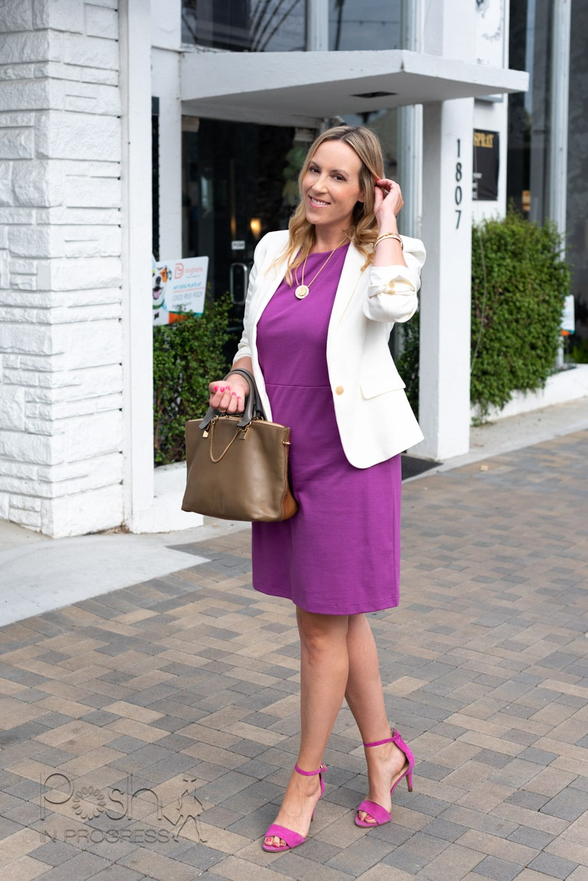 What to Wear For an Interview in the Summer, tips featured by top LA fashion blogger, Posh in Progress
