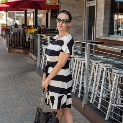 This Black and White Striped Dress Is The Best Summer Find