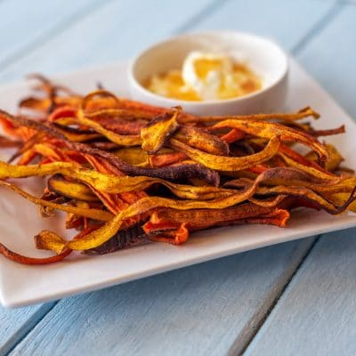 This Baked Carrot Chips Recipe is Easy and Yummy