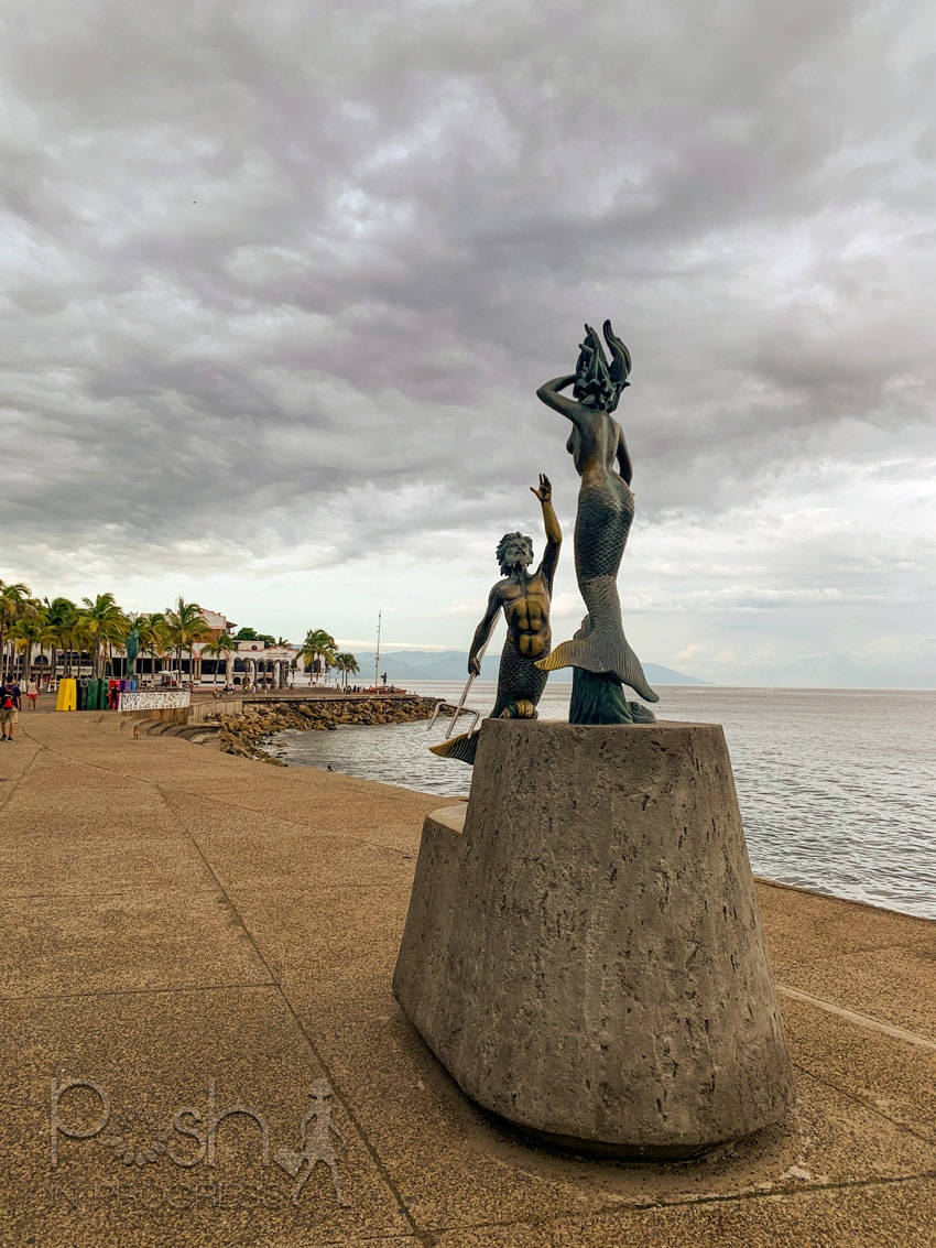 Puerto Vallarta Malecón Boardwalk 2