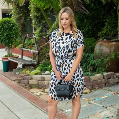 Here are 9 Cute Curved Hem Animal Print Dresses Under $25