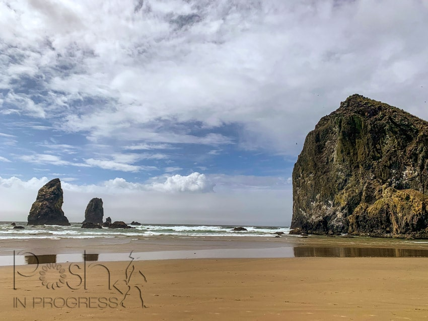 haystack rock cannon beach 2
