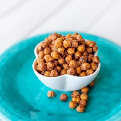 Crispy Honey Roasted Chickpeas Are Healthy and Yummy