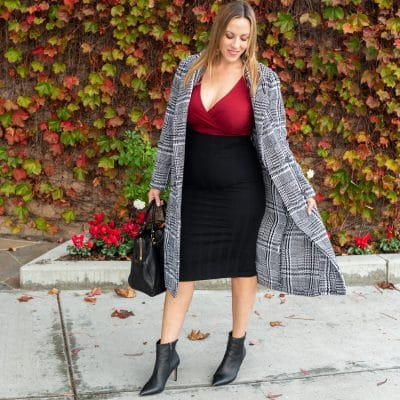 Plaid Coats For Women Under $50