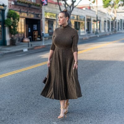 Here are 10 Turtleneck Midi Dresses Under $30 That I Love
