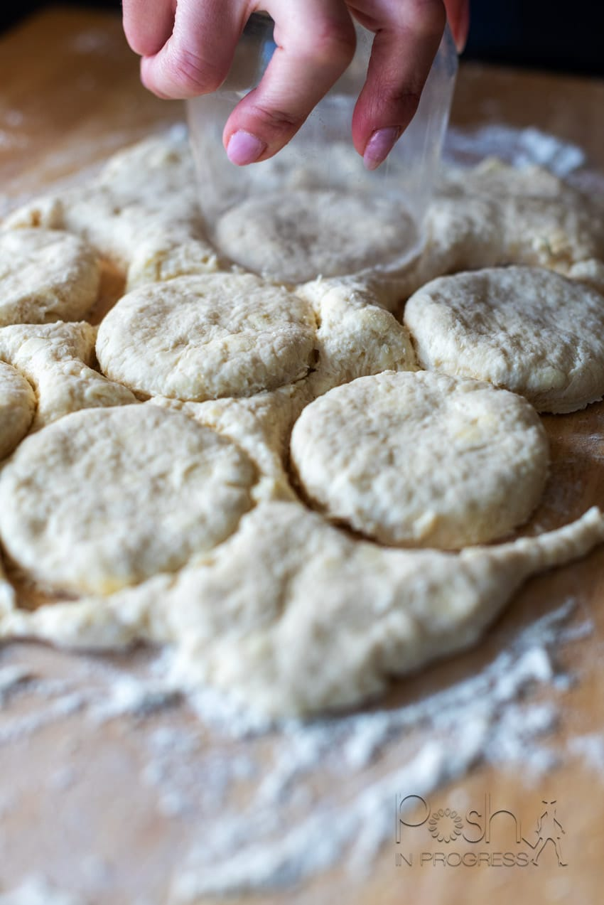 Easy Honey Glazed Biscuits Recipe featured by top LA lifestyle blogger, Posh in Progress