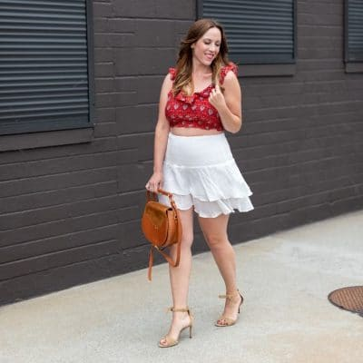 Here are 10 Cute Red and White Outfit Ideas You Will Love
