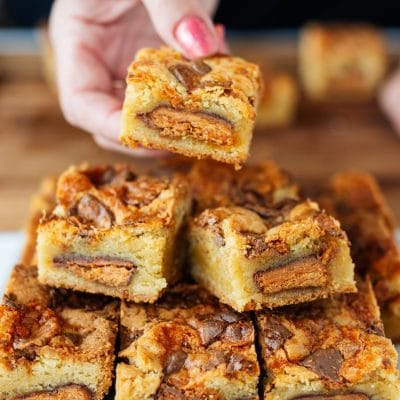 How to Make Butterfinger® Blondies