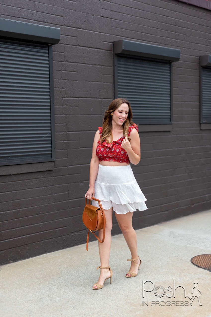 red and white outfit 2