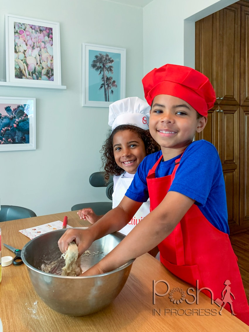 benefits of baking with kids