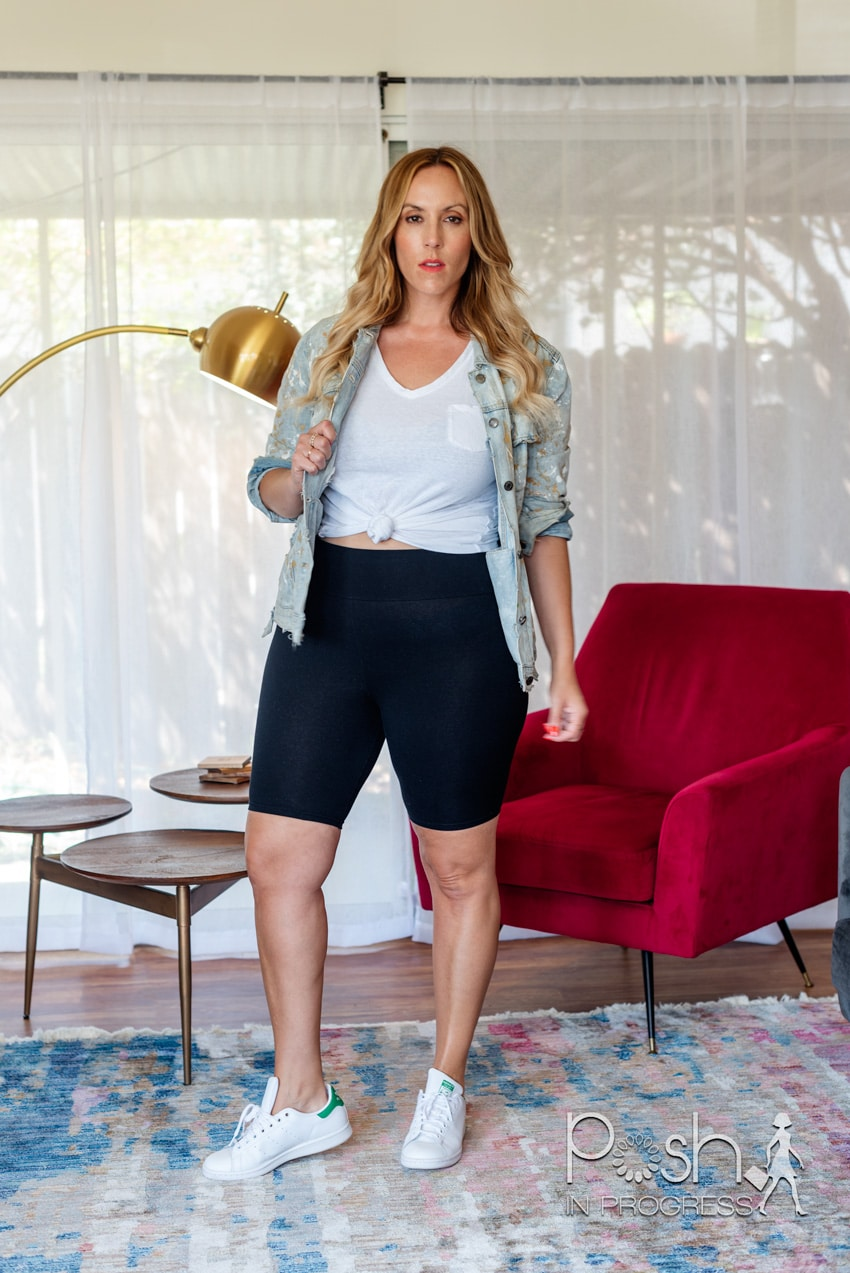 Here Are 3 Ideas For How To Style Biker Shorts Posh In Progress