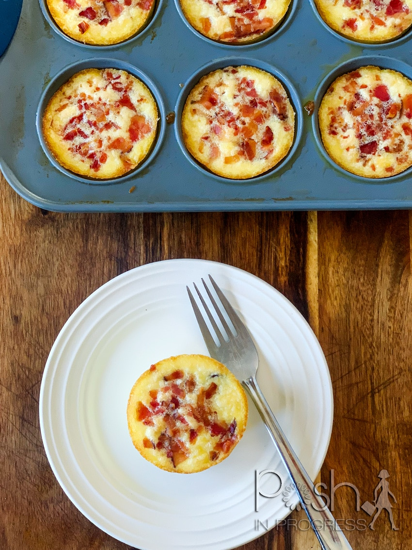 Starbucks Egg Bites Recipe In the Oven featured by top LA lifestyle blogger, Posh in Progress