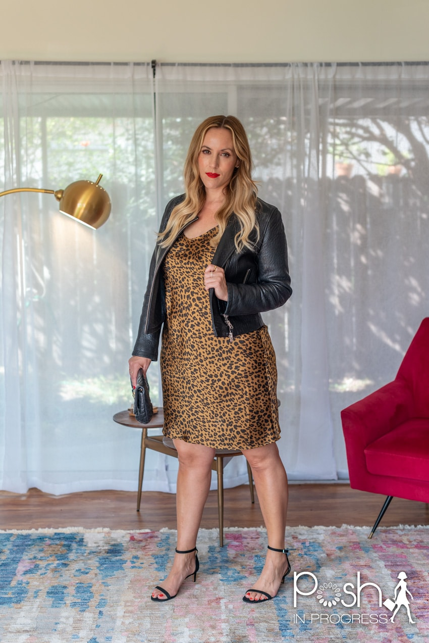 animal print slip dress 2