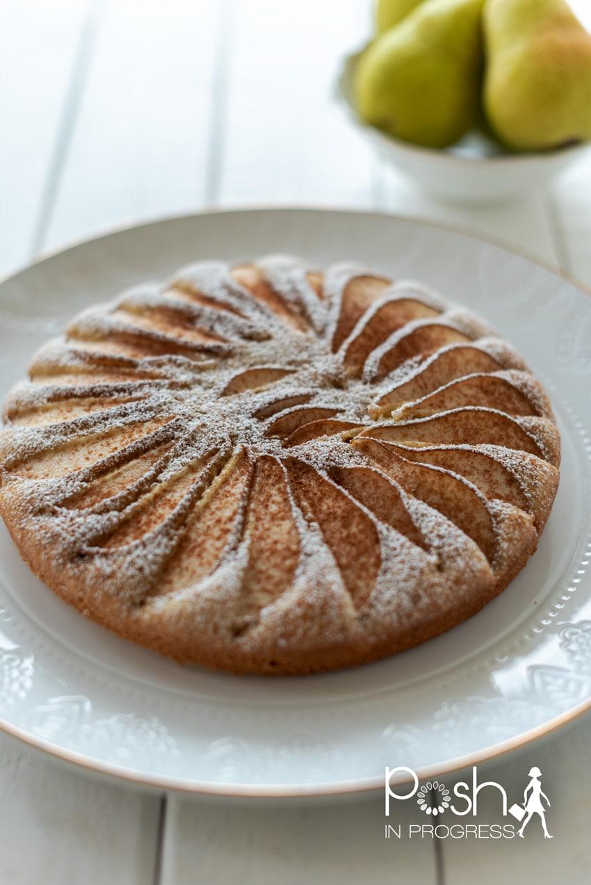 simple pear cake 2