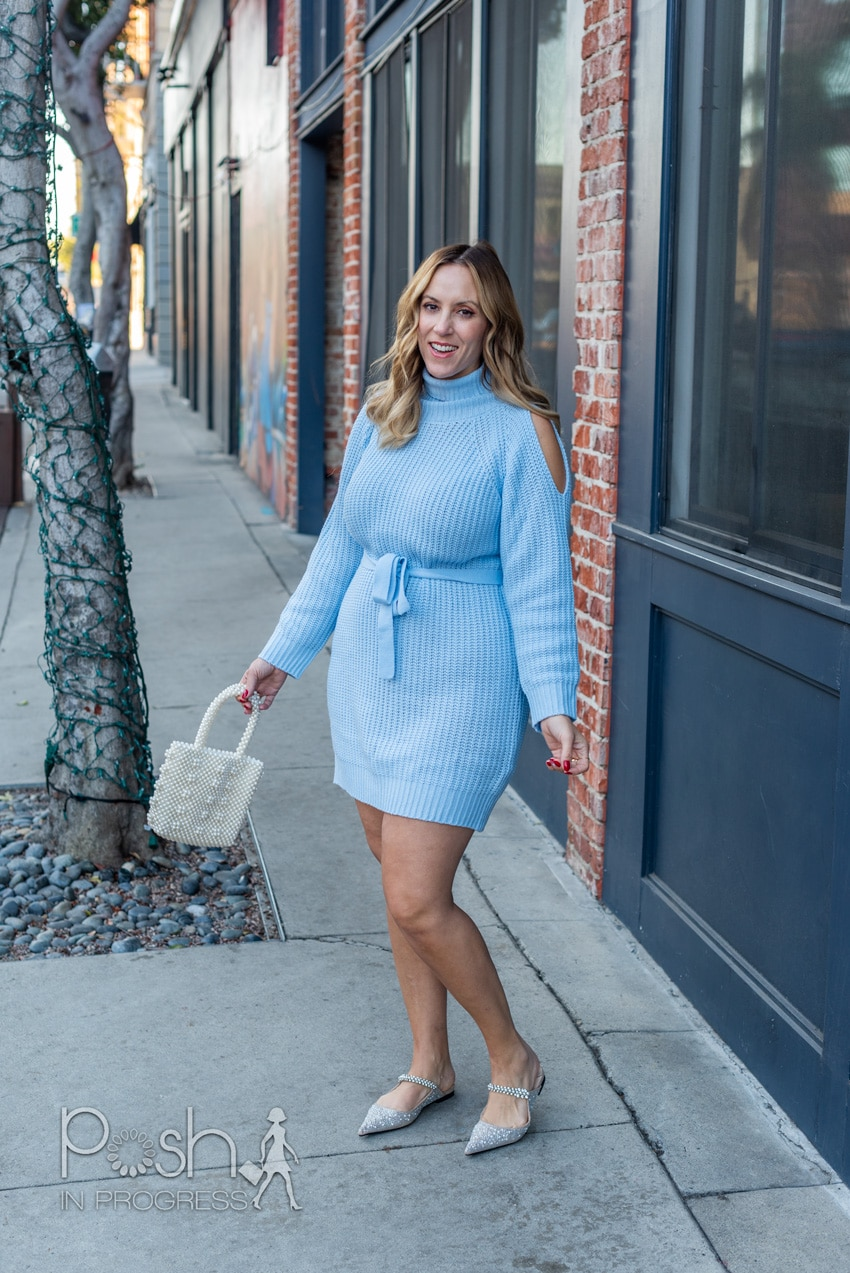 cold shoulder sweater dresses 3