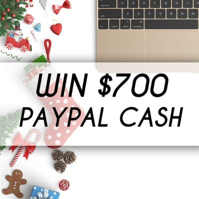 Enter to win $700 in paypal cash