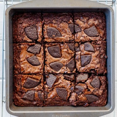How to Make These Easy Thin Mint Brownies with Leftover Cookies