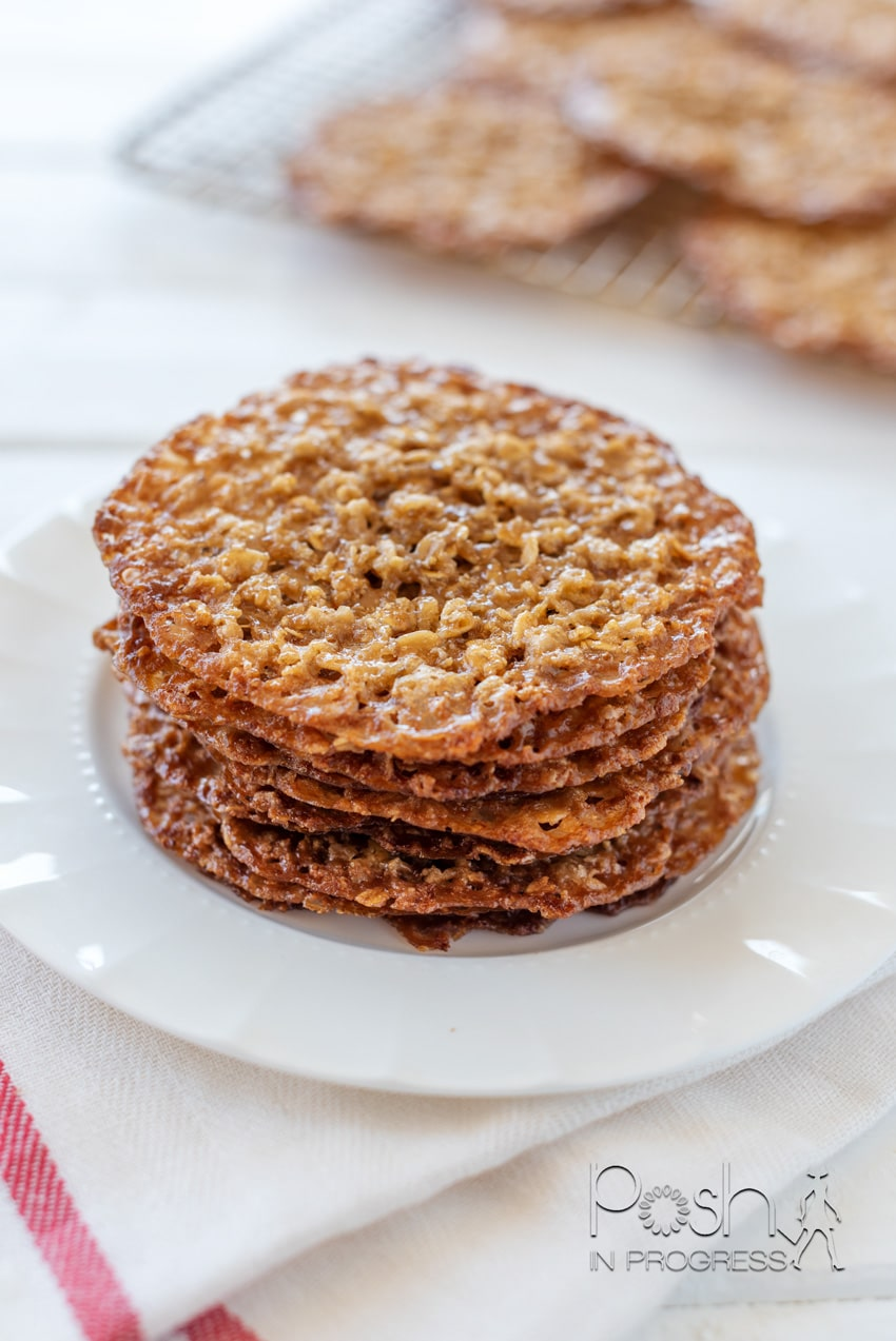 oatmeal lace cookies 2