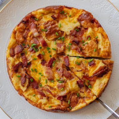 Easy Breakfast Ideas: Bacon Egg and Cheese Strata Recipe