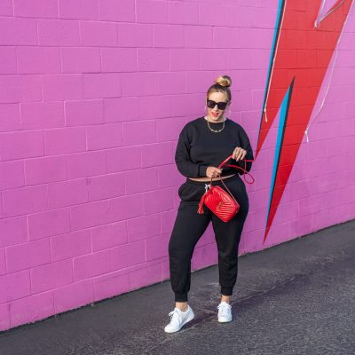 Casual Spring Style: How to Style your Favorite Matching Sweat Suit