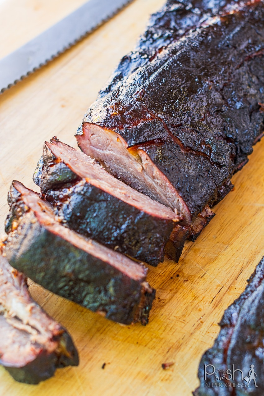 Memorial Day Grilling Recipes by popular LA lifestyle blog, Posh in Progress: image of Kansas City ribs.