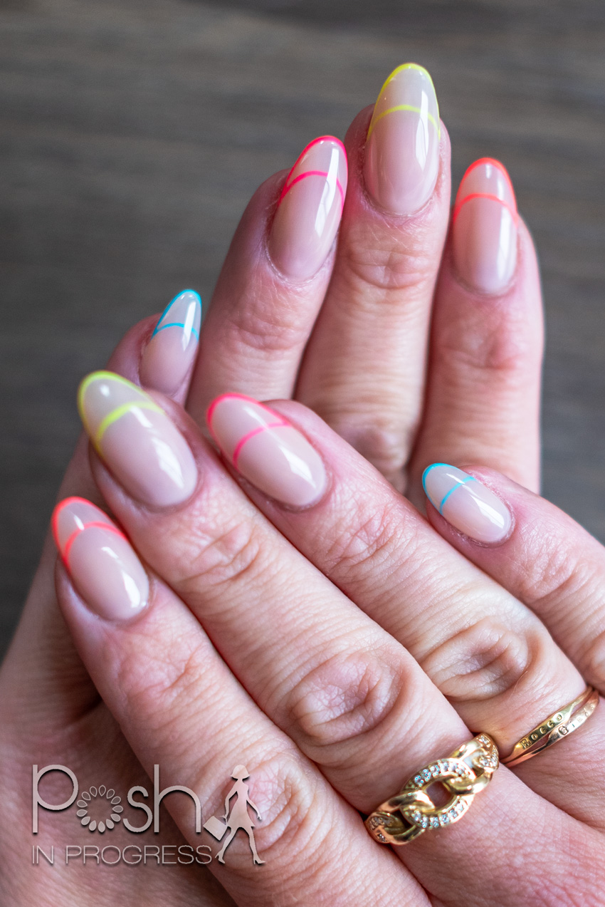Modern French Manicure featured by top LA lifestyle blogger, Posh in Progress