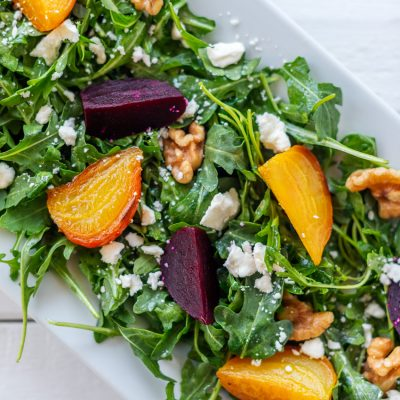 This Delicious Arugula Beet Salad is So Easy to Make