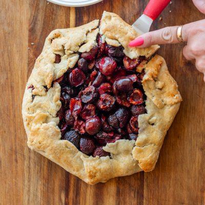How to Make This Delicious Cherry Galette with Fresh Cherries