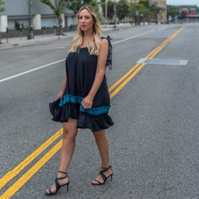 This Flowy Black Dress is Perfect for Your Fall Wardrobe