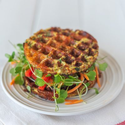 How to Make These Awesome Zucchini Chaffles at Home