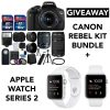 Cannon Rebel Bundle + Apple Watch Giveaway!